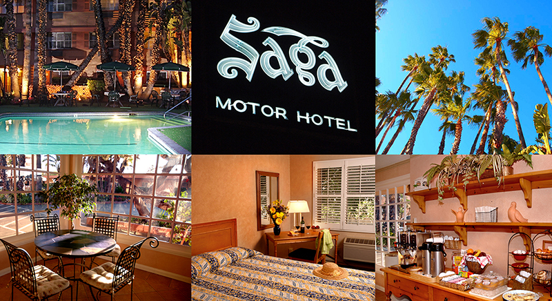 The Saga Motor Motel Pasadena California Rose Parade Destination